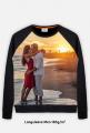 Bluza FullPrint meska 185g/m2 Zachod slonca na plazy