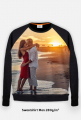 Bluza FullPrint meska 280g/m2 Zachod slonca na plazy