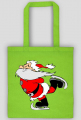 Torba ekologiczna Mikołaj na łyżwach