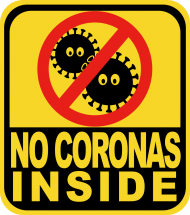 No coronas inside