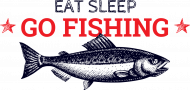 eat sleep go fishing