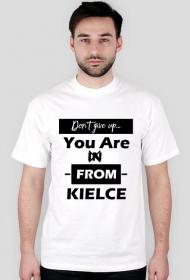 Koszulka don't give up