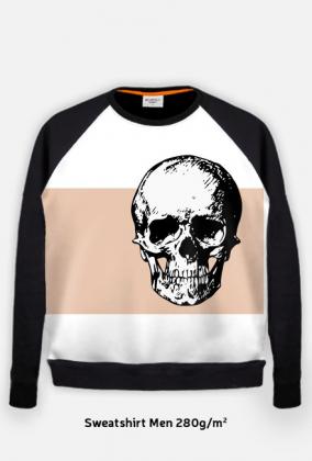 b9b39b2c0 Bluza męska z czaszką - bluza fullprint w Koszulki z napisami oraz ...