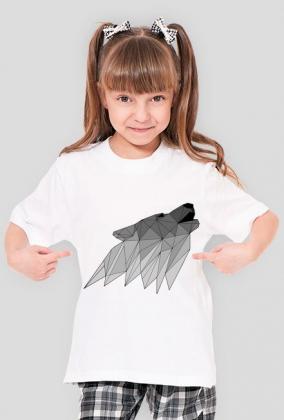 Koszulka dziecięca - Wilk