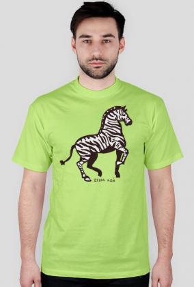 Zebra-koń