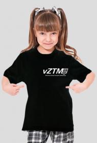 Koszulka vZTM Dziecięca/Dziewczynka Ciemna