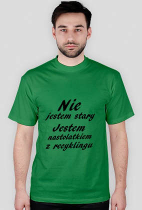 Koszulka Nastolatek z Recyklingu
