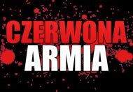 Damski Biały T-Shirt: CZERWONA ARMIA