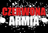 Damski Czerwony T-Shirt: CZERWONA ARMIA BIAŁY
