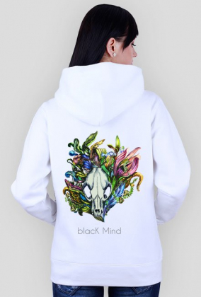 "Bluza ""Skull"" BlacK Mind"