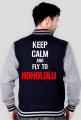 Bejsbolówka | Keep Calm And Fly to Honolulu