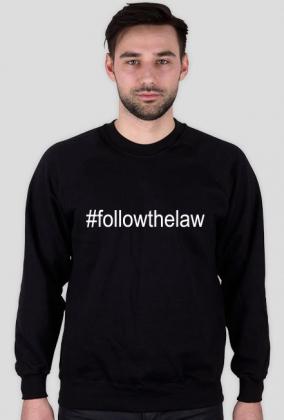 Bluza męska czarna - #followhelaw
