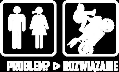 Problem? - Rozwiązanie - męska koszulka motocyklowa