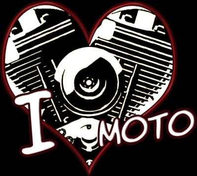 I love moto serce - bluza motocyklowa