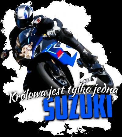 Królowa jest tylko jedna SUZUKI - męska koszulka motocyklowa