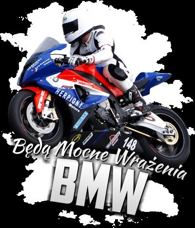 Będą Mocne Wrażenia BMW - męska koszulka motocyklowa