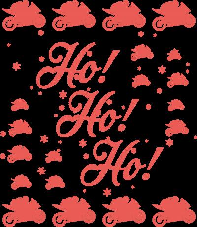 Ho Ho Ho koszulka świąteczne - bluza motocyklowa