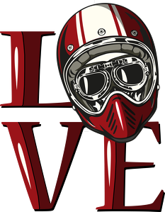 Love kask - kubek motocyklowy