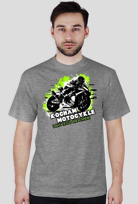 259d26c52 Kocham motocykle i nic tego nie zmieni - Męska koszulka motocyklowa ...