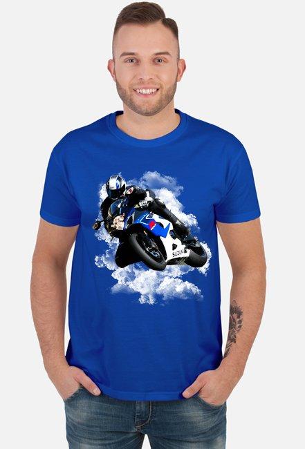 Suzuki - męska koszulka motocyklowa