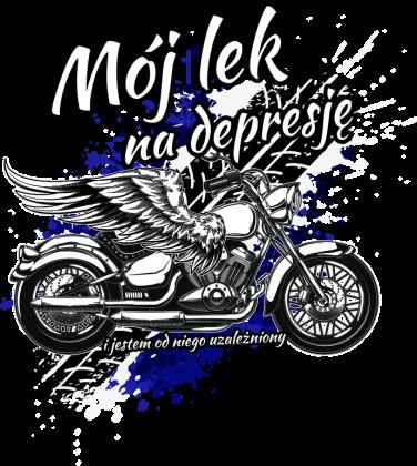 Mój lek na depresję - bluza motocyklowa