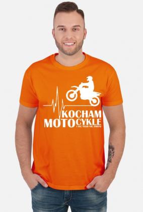c2c636a61 Kocham motocykle i nic tego nie zmieni cross/enduro - męska koszulka  motocyklowa
