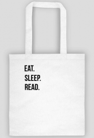 EKO TORBA: eat. Sleep. Read.