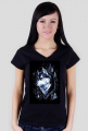 HUSKY FOREST t-shirt damski