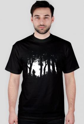 Cienie Lasu - koszulka męska