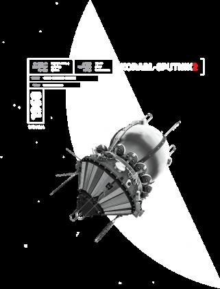 1960 Korabl Sputnik 2 - Biełka i Striełka - wielkie misje kosmiczne