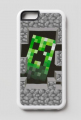 Etui iPhone 6/6s - Minecraft Creeper