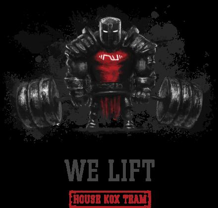 We lift