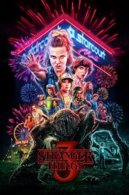 Stranger Things 3 bluza z kapturem dziecięca