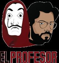 El Profesor Dom z Papieru koszulka męska