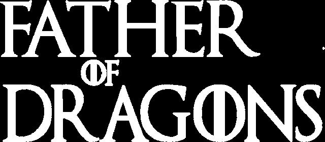 Father of Dragons Gra o tron bluza męska czarna