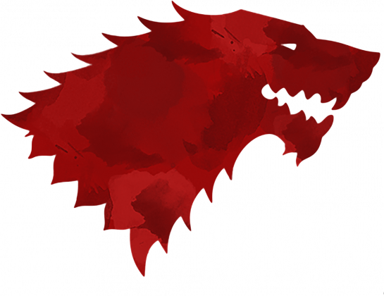 Wolf The North Remembers Gra o tron bluza damska czarna