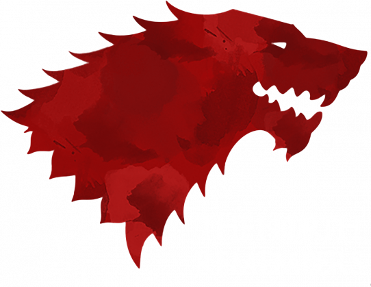 Wolf The North Remembers Gra o tron bluza męska czarna