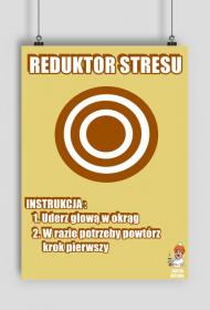 REDUKTOR STRESU - plakat