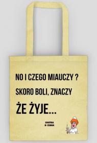 NO I CZEGO MIAUCZY - torba eco