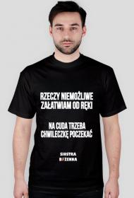 RZECZY NIEMOŻLIWE - koszulka męska