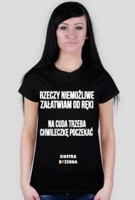 RZECZY NIEMOŻLIWE - koszulka damska