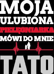 TATA PIELĘGNIARKI - koszulka czarna