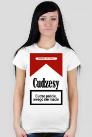 Cudzesy koszulka damska