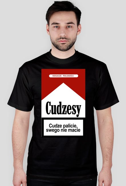 Cudzesy - koszulka męska