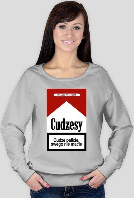 Cudzesy bluza damska