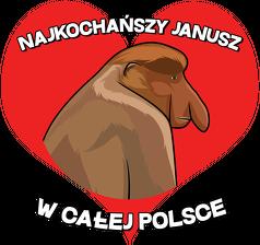 Najkochańszy Janusz w całej Polsce - kubek