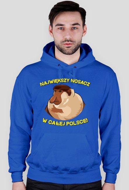 Największy Nosacz w całej Polsce - bluza z kapturem męska