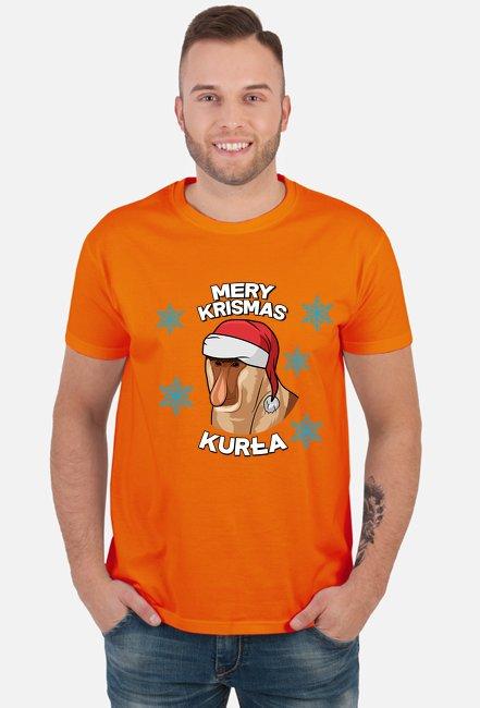 Mery Krismas, Kurła - koszulka męska