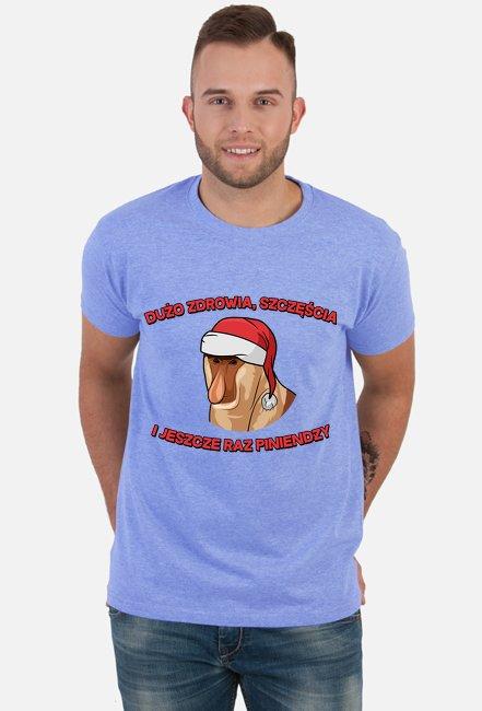 Dużo zdrowia, szczęścia - koszulka męska