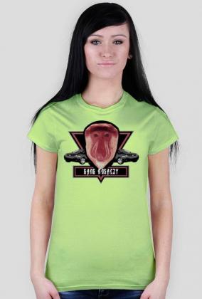 Gang nosaczy koszulka damska
